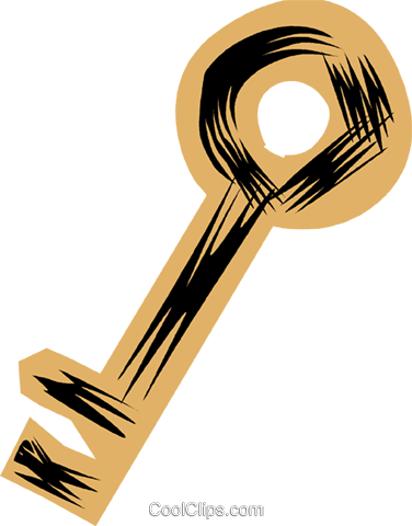 Keys and Locks Royalty Free Vector Clip Art illustration vc079875