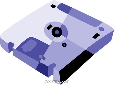 Diskettes Floppy Disks Royalty Free Vector Clip Art illustration vc079899
