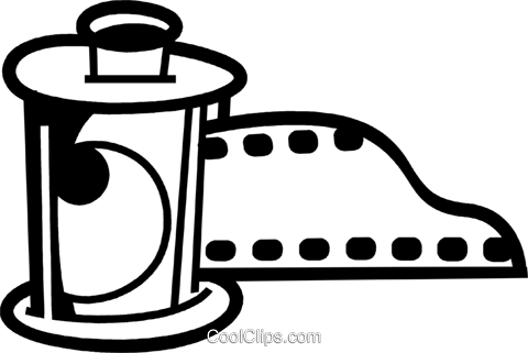 Film Royalty Free Vector Clip Art illustration vc079963