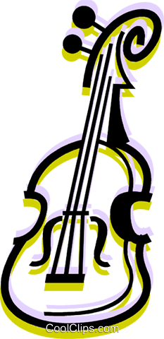 Violins and Fiddles Royalty Free Vector Clip Art illustration vc079967
