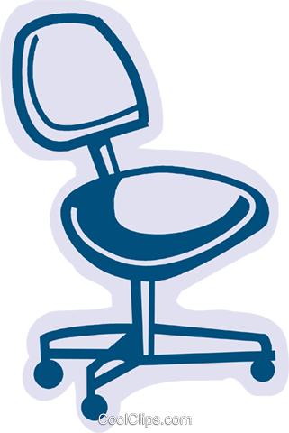 Chairs Royalty Free Vector Clip Art illustration vc079986