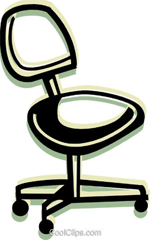 Chairs Royalty Free Vector Clip Art illustration vc079988