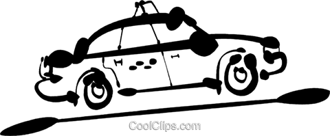Taxis Royalty Free Vector Clip Art illustration vc081515