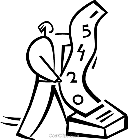 accountant Royalty Free Vector Clip Art illustration -vc040769-CoolCLIPS.com