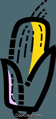 玉米 免版税矢量剪贴画插图