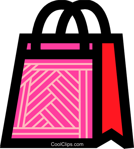 Shopping Bags Royalty Free Vector Clip Art illustration vc084236