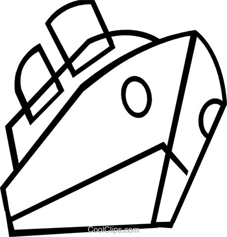 Cruise Ships And Ocean Liners Royalty Free Vector Clip Art