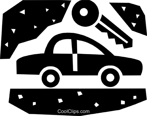 Family Cars Royalty Free Vector Clip Art illustration vc086035