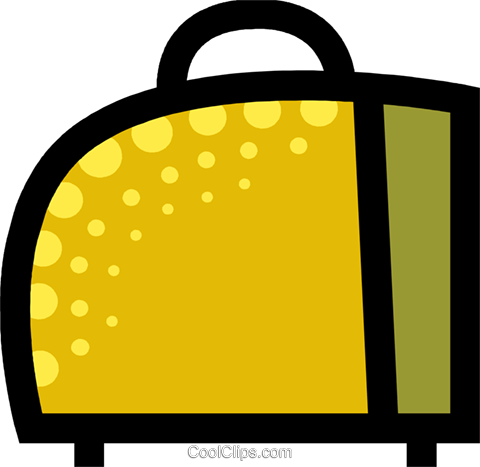 Luggage Royalty Free Vector Clip Art illustration vc087743