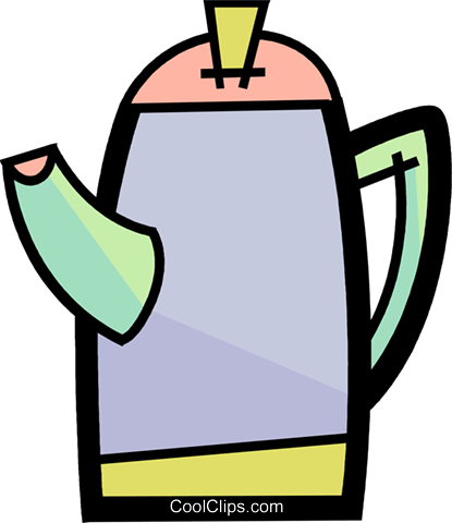 Teapots Royalty Free Vector Clip Art illustration vc088302