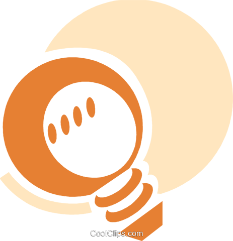 Light bulbs Royalty Free Vector Clip Art illustration vc089607