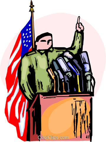 Political Process Royalty Free Vector Clip Art illustration vc090369