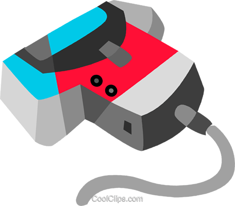 Hand scanner Royalty Free Vector Clip Art illustration vc091863
