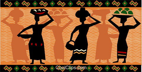 Africa Royalty Free Vector Clip Art illustration vc093254