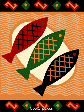 Fish Royalty Free Vector Clip Art illustration vc093256