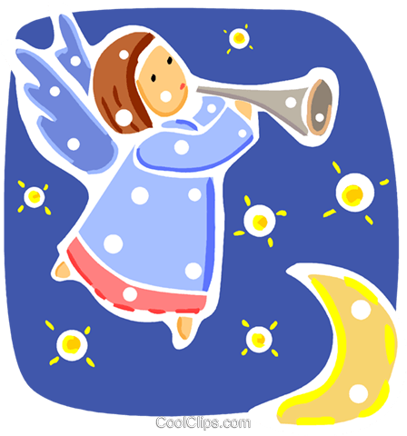Angels Royalty Free Vector Clip Art illustration vc093313