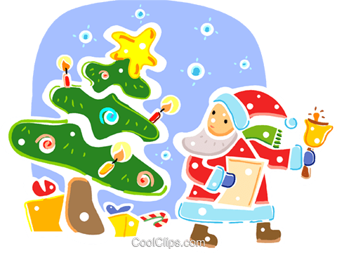 Santa Royalty Free Vector Clip Art illustration vc093319