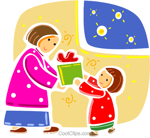 Christmas Scenes Royalty Free Vector Clip Art illustration vc093325
