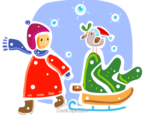 Christmas Scenes Royalty Free Vector Clip Art illustration vc093327