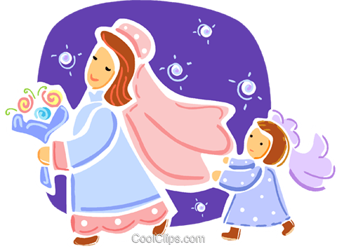 Brides Royalty Free Vector Clip Art illustration vc093339