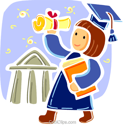 Educational Concepts Royalty Free Vector Clip Art illustration vc093349