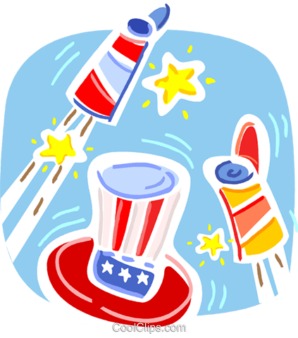 Independence Day Royalty Free Vector Clip Art illustration vc093355