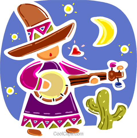 Spanish Royalty Free Vector Clip Art illustration vc093358