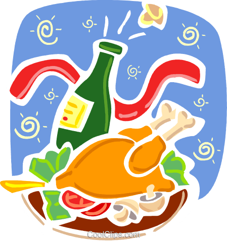 Poultry Royalty Free Vector Clip Art illustration vc093360