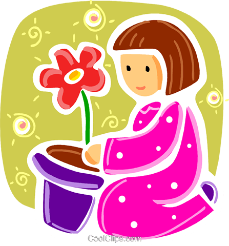 Children Playing Royalty Free Vector Clip Art illustration vc093364