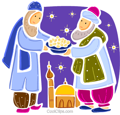 Priests and Ministers Royalty Free Vector Clip Art illustration vc093394