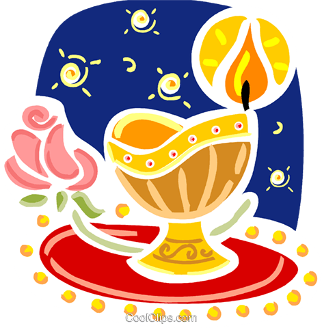 Chalices Royalty Free Vector Clip Art illustration vc093403