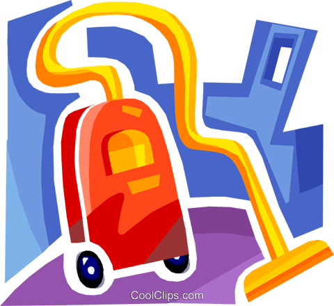 Vacuum Cleaners Royalty Free Vector Clip Art illustration vc093701