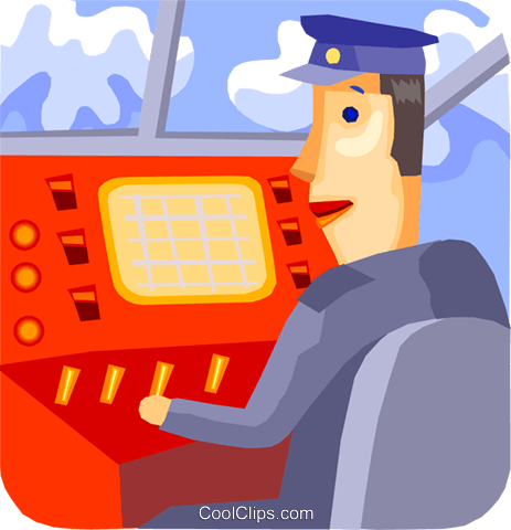 Pilots Royalty Free Vector Clip Art illustration vc093737