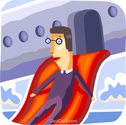 Passengers Royalty Free Vector Clip Art illustration vc093745