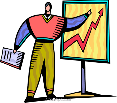 Charts Royalty Free Vector Clip Art illustration vc093828