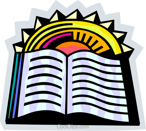 Books Royalty Free Vector Clip Art illustration vc093833