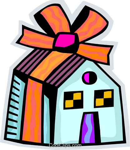 Mortgage and Loans Royalty Free Vector Clip Art illustration vc093839