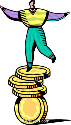 Financial Concepts Vektor Clipart Bild vc093841