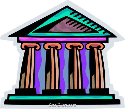 Banks Royalty Free Vector Clip Art illustration vc093850