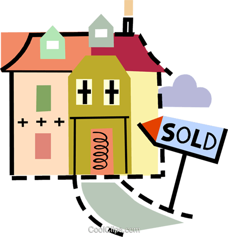 Urban Housing Royalty Free Vector Clip Art illustration vc093913