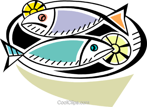 Fish Royalty Free Vector Clip Art illustration vc093946