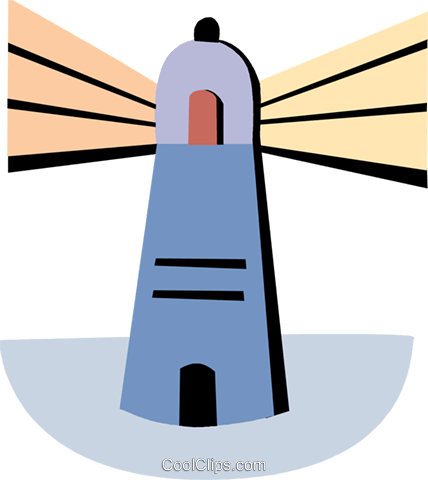 Lighthouse Royalty Free Vector Clip Art illustration vc093956
