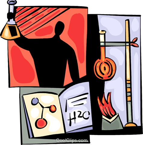 Scientists and Researchers Royalty Free Vector Clip Art illustration vc094011