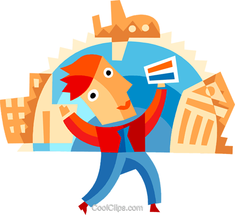 Credit Cards Royalty Free Vector Clip Art illustration vc094100