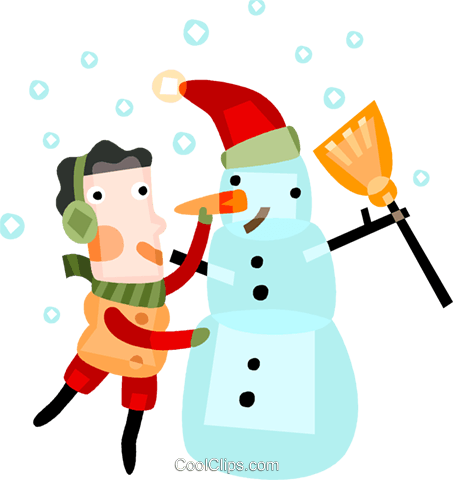 Snowmen Snowman Royalty Free Vector Clip Art illustration vc094164