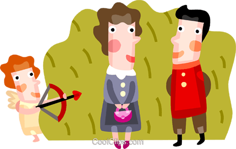 Couples and Romance Royalty Free Vector Clip Art illustration vc094194