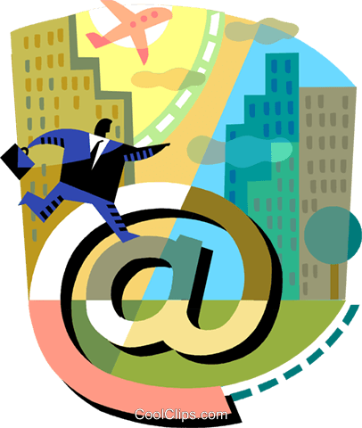 E-mail Royalty Free Vector Clip Art illustration vc094241