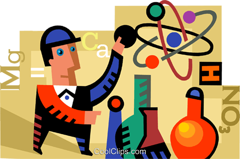 Scientists and Researchers Royalty Free Vector Clip Art illustration vc094266