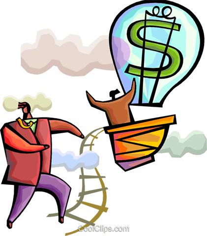 Financial Concepts Royalty Free Vector Clip Art illustration vc094304