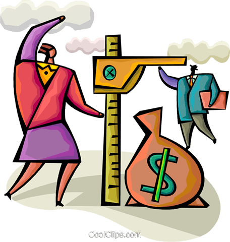 Financial Concepts Royalty Free Vector Clip Art illustration vc094306